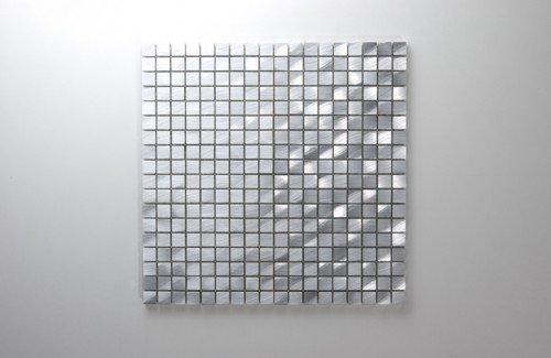 Novo Silver Matal mosaic tiles