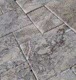 Travertin Carrelage Silver