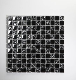 Perlmutt Metal glas mosaic tiles 1. Choice in 30x30x1 cm