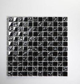 Perlmutt Metal verre Mosaïque Carrelage 1. Choice dans 30x30x1 cm