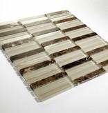Quebeck Brown Long Mix szklana mozaiki