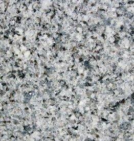 Azul Platino Dalles en granit poli, chanfrein, calibré, 1ère qualité premium de choix dans 61x30,5x1 cm