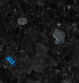 Blue In The Night Granite Tiles Polished, Chamfer, Calibrated, 1st choice premium quality in 61x30,5x1 cm