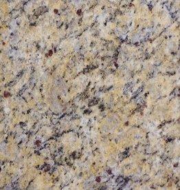 Giallo Cecillia Graniet Tegels Gepolijst, Facet, Gekalibreerd, 1.Keuz Premium kwaliteit in 61x30,5x1 cm