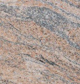 Juparana India Graniet Tegels Gepolijst, Facet, Gekalibreerd, 1.Keuz Premium kwaliteit in 61x30,5x1 cm