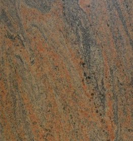 Paradiso Bash Dalles en granit restant brosse, chanfrein, calibré, 1ère qualité premium de choix dans 61x30,5x1 cm