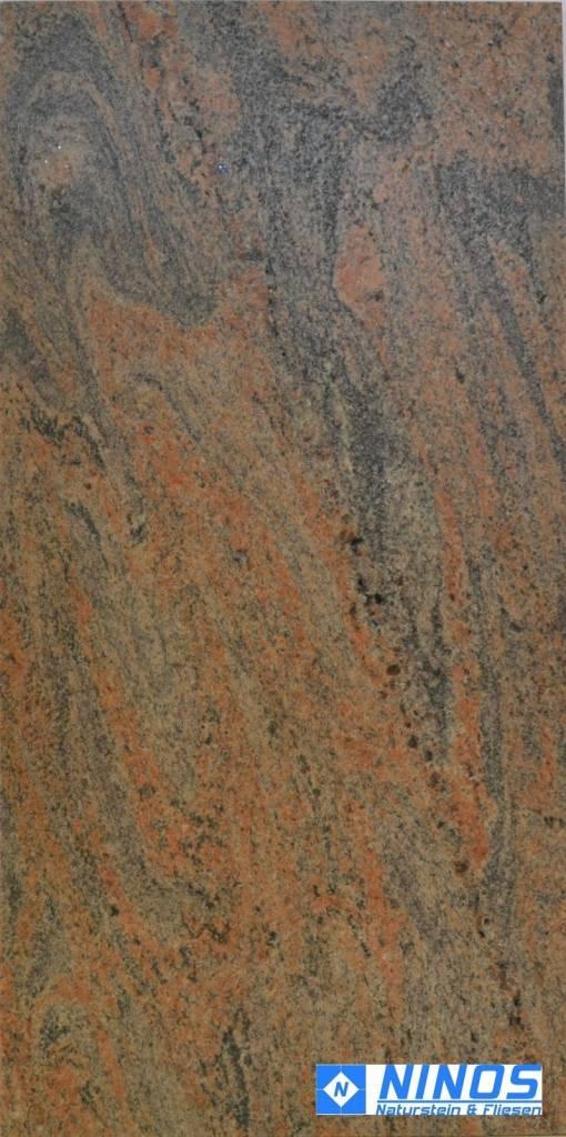 Paradiso Bash restpartijen graniet tegels | Leatherlook 61x30,5x1 cm ...