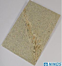 Imperial White Dalles en granit poli, chanfrein, calibré, 2ère qualité premium de choix dans 60x40x1 cm