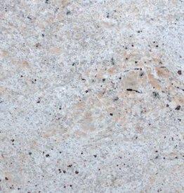 Ivory White Dalles en granit poli, chanfrein, calibré, 1ère qualité premium de choix dans 61x30,5x1 cm