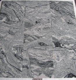 Viscont White Granite Tiles Polished Chamfer Calibrated 1. Choice in 30,5x30,5x1cm