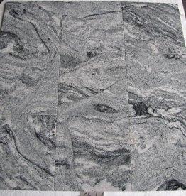 Viscount White Natuursteen Tegels Gepolijst Facet Gekalibreerd 1. Keuz in 30,5x30,5x1cm