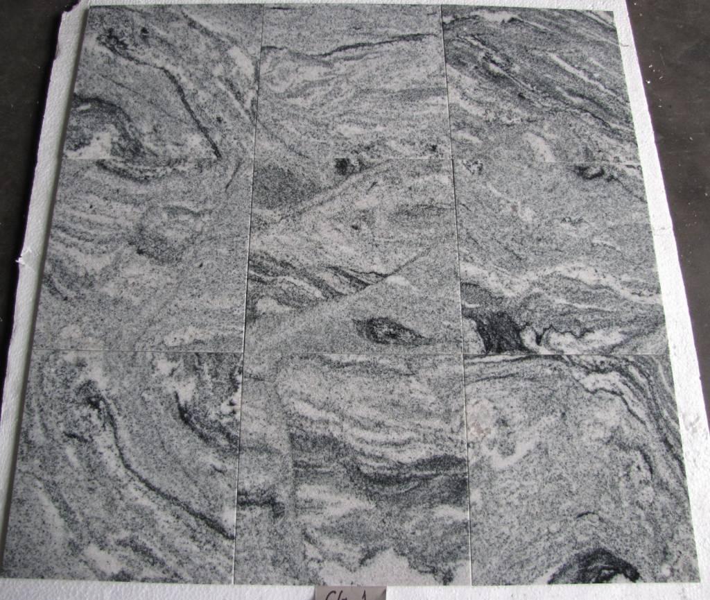 Viscount White Natuursteen Tegels Gepolijst Facet Gekalibreerd 30,5x30,5x1cm
