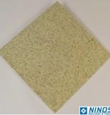 Imperial White Dalles en granit poli chanfrein calibré 40x40x1 cm