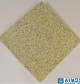 Imperial White Granitfliesen 2.Wahl Restposten Poliert Gefast Kalibriert 40x40x1cm