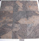 Juparana Colombo Granit Płytki polerowane fazowane kalibrowane 30,5x30,5x1cm