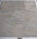 Kashmir White Granit Płytki polerowane fazowane kalibrowane 30,5x30,5x1cm