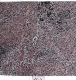 Paradiso Classico Dalles en granit poli chanfrein calibré 1. Choice dans 61x61x1,5cm