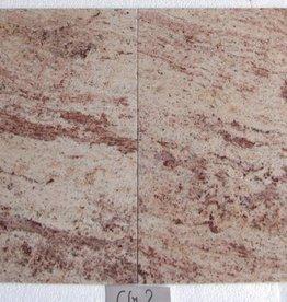 Shivakashi Ivory Brown Dalles en granit poli chanfrein calibré 1. Choice dans 61x61x1,5cm