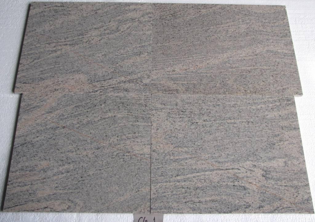 Juparana Colombo Granit Płytki polerowane 40 cm długość swobodna / 1,5 cm
