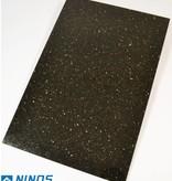 Black Star Galaxy Natuursteen Tegels Gepolijst Facet Gekalibreerd 60x40x1 cm