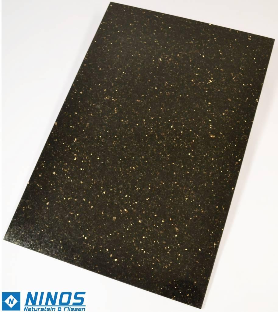 Black Star Galaxy Granit Płytki polerowane fazowane kalibrowane 60x40x1 cm