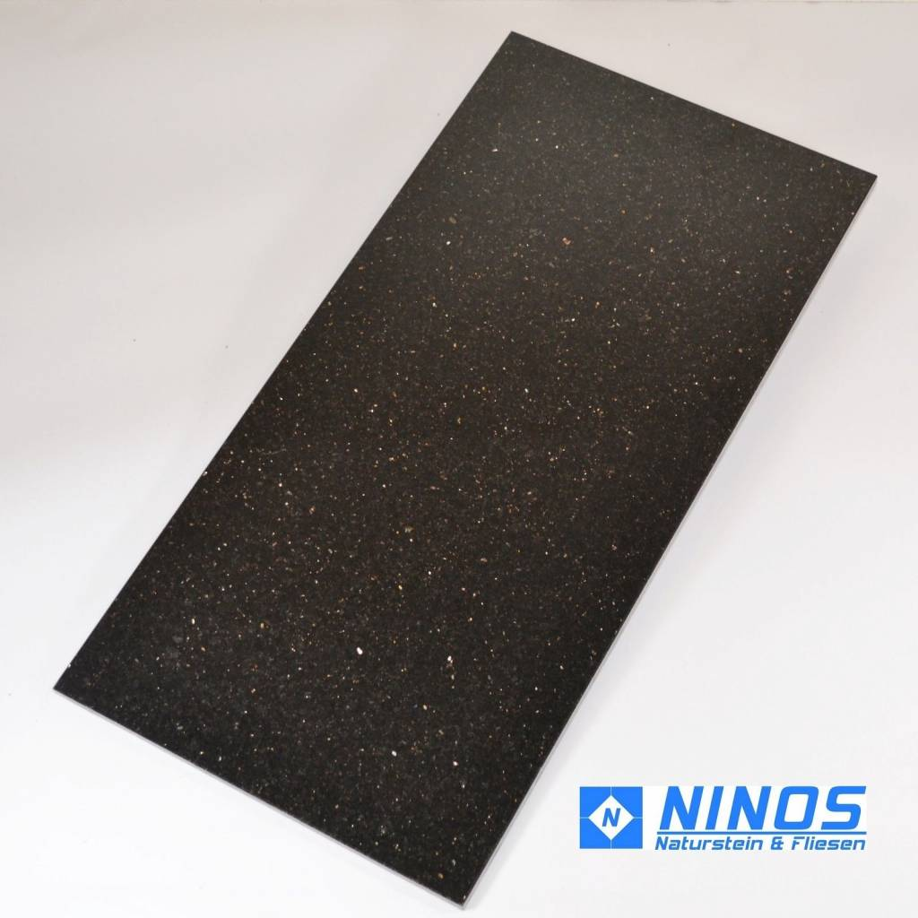 Black Star Galaxy Dalles en granit