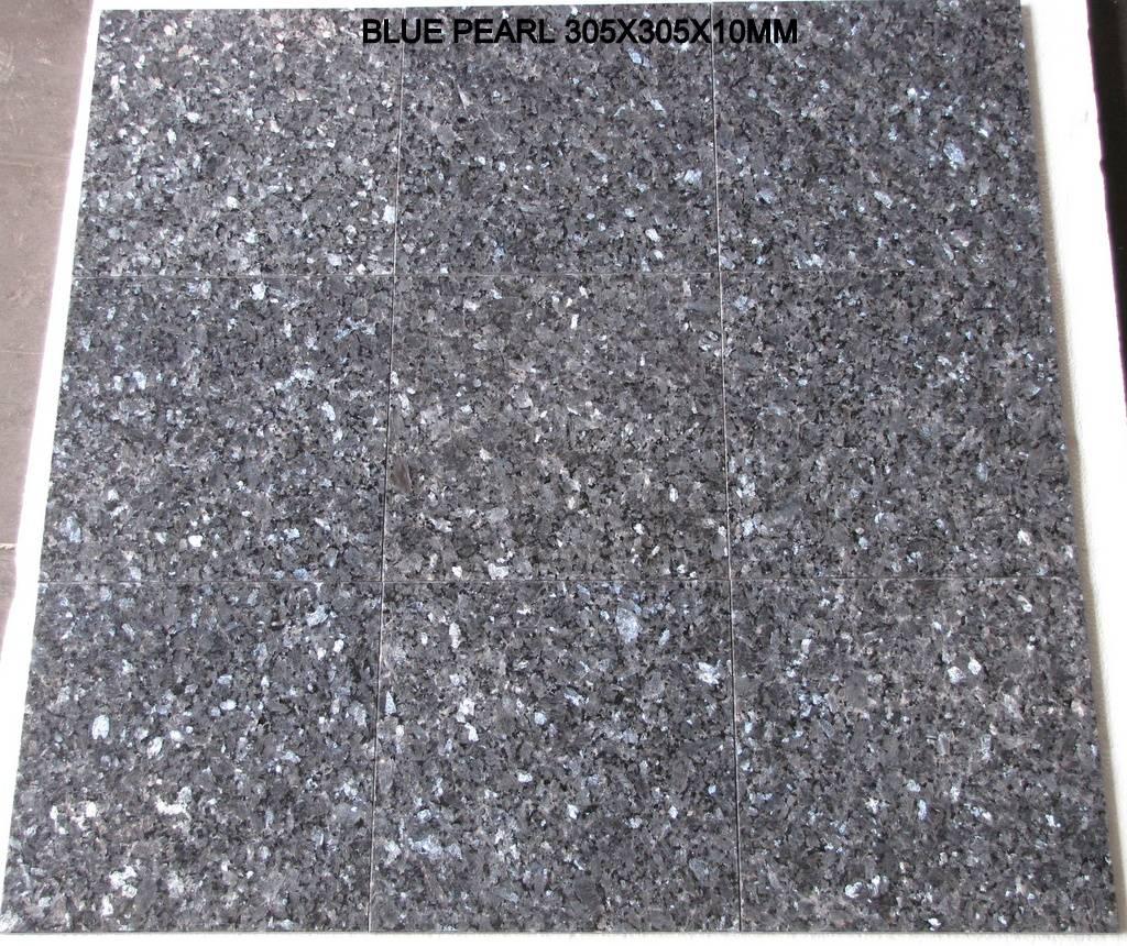Blue Pearl Dalles en granit