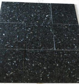 Emerald Pearl Granite Tiles Polished, Chamfer, Calibrated, 2st choice premium quality in 30,5x30,5x1 cm