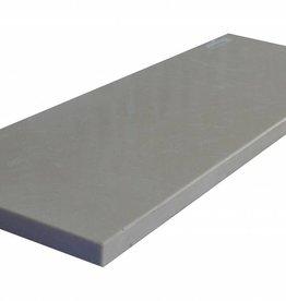 Royal Beige Fenêtre en pierre artificielle seuil surface polie, 1. Choice, bord à 1 côté long et 2 côtés courts anglés et polis, il est possible de mesurer aussi!