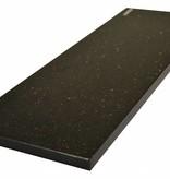 Black Star Galaxy Natural stone windowsill