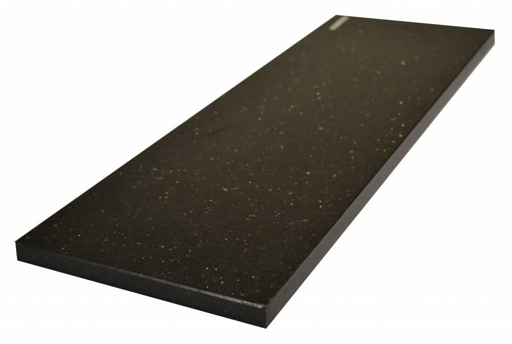 Black Star Galaxy Naturalny kamień parapet