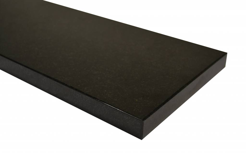 Nero Assoluto Black Naturalny kamień parapet