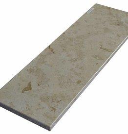 Jura Gelb Marmeren vensterbank gepolijst oppervlak, 1. Keuz, rand tot 1 lange zijde en 2 korte zijden afgeschuind en gepolijst, is het mogelijk om ook te meten!