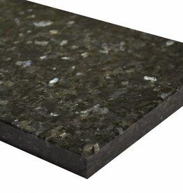 Labrador Blue Pearl GT Natuursteen graniet vensterbank gepolijst oppervlak, 1. Keuz, rand tot 1 lange zijde en 2 korte zijden afgeschuind en gepolijst, is het mogelijk om ook te meten!