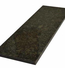 Steel Grey Natuursteen graniet vensterbank gepolijst oppervlak, 1. Keuz, rand tot 1 lange zijde en 2 korte zijden afgeschuind en gepolijst, is het mogelijk om ook te meten!
