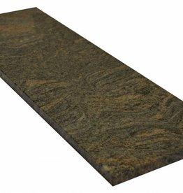 Paradiso Bash Natuursteen graniet vensterbank gepolijst oppervlak, 1. Keuz, rand tot 1 lange zijde en 2 korte zijden afgeschuind en gepolijst, is het mogelijk om ook te meten!