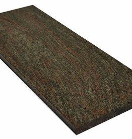 Paradiso Classico Naturstein Granit Fensterbank Polierte Oberfläche, 1. Wahl, Kante auf 1 Lange Seite und 2 kurze Seiten Gefast und Poliert, auf Maß auch möglich!
