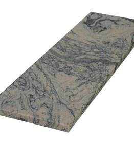 Juparana China Natural stone Window sill, Polished surface, 1. Choice, edge to 1 long side and 2 short sides chamfered and polished, it is possible to measure also!
