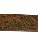 Multicolor Red Naturalny kamień parapet