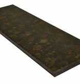 Tan Brown Pierre naturelle de granit seuil