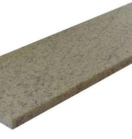 Imperial White Natuursteen graniet vensterbank gepolijst oppervlak, 1. Keuz, rand tot 1 lange zijde en 2 korte zijden afgeschuind en gepolijst, is het mogelijk om ook te meten!