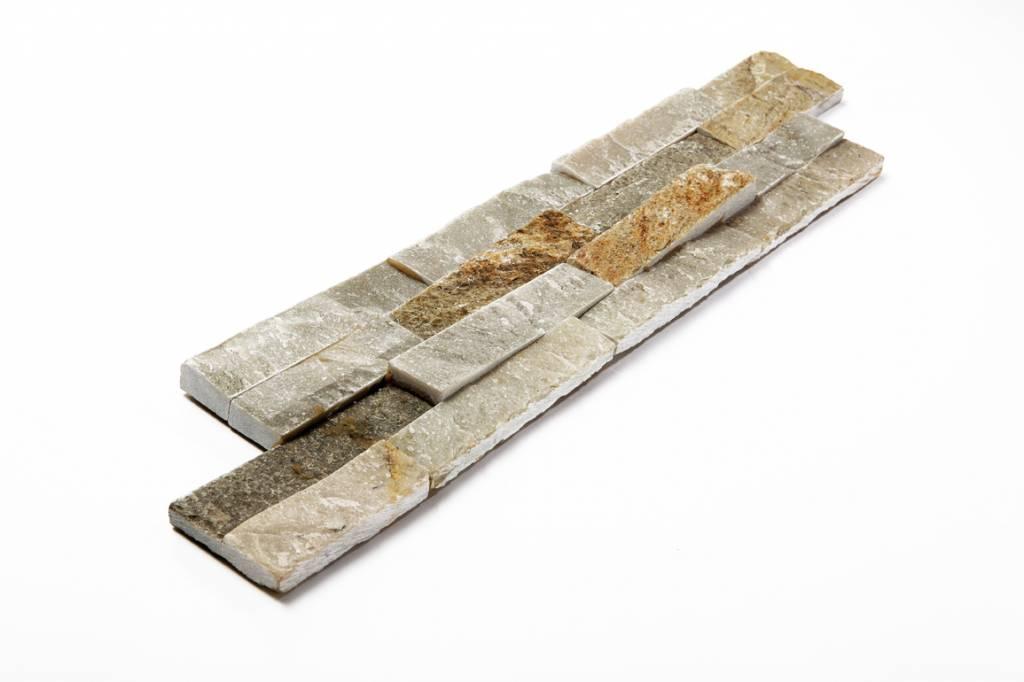 Wall bricks stone panels Quarzite Beige