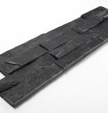 Brickstone Black Slate Nauursteen Steenstrips