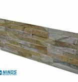 Brickstone Beige Quarzit Naturstein Verblender