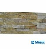 Briques mur de pierre Quarzit Brickstone Beige