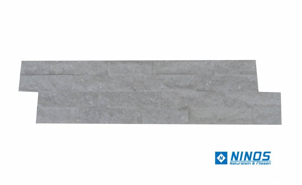 Brickstone Weiß Quarzit Naturstein Verblender