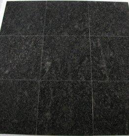 Steel Grey Dalles en granit poli, chanfrein, calibré, 1ère qualité premium de choix dans 30,5x30,5x1 cm