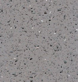 Starlight Grey quartz stone composite poli, chanfrein, calibré, qualité Premium, 1. Choice dans 60x30x1 cm