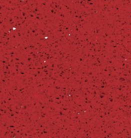 Starlight Red quartz stone composite poli, chanfrein, calibré, qualité Premium, 1. Choice dans 60x30x1 cm