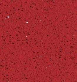 Starlight Red Quarzkomposit Fliesen Poliert, Gefast, Kalibriert, Premium Qualität 1.Wahl in 60x30x1 cm